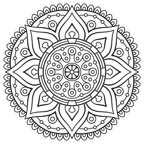 Coloring Pages For Adults App : Adult colouring in apps inkman
