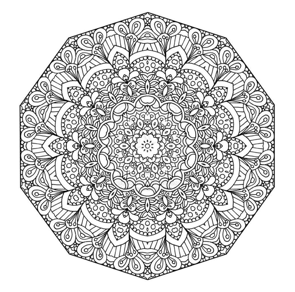 mandala coloring pages 17 10241013 - Mandalas Coloring Pages